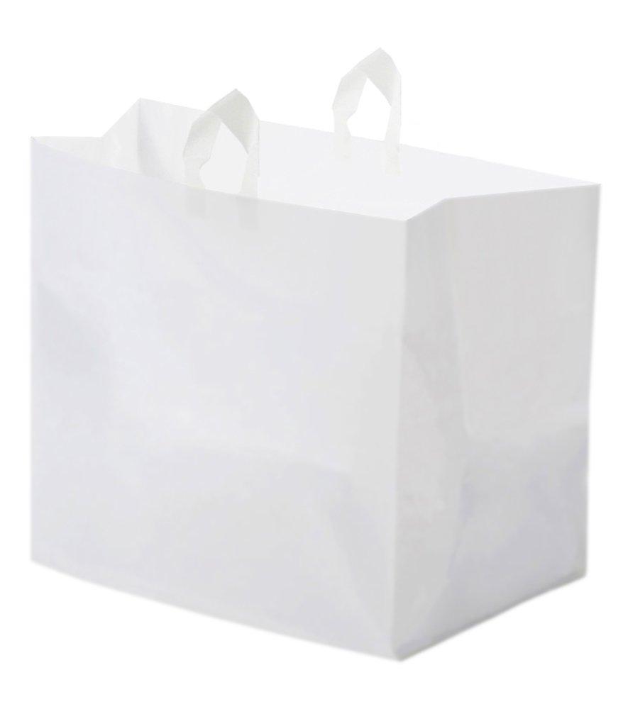 GloPack 7FTBAG White Catering Plastic Bag, 22