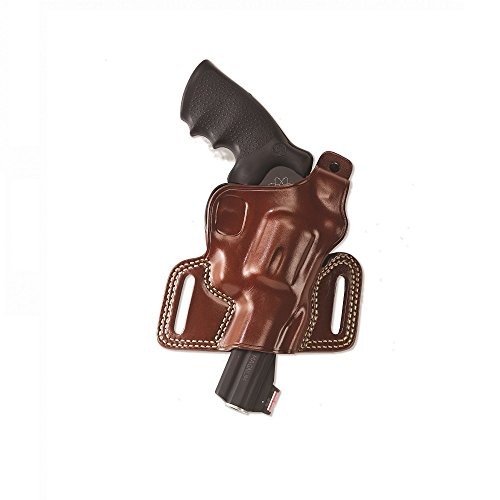 Galco Silhouette High Ride Holster for 1911 5-Inch Colt, Kimber, para, Springfield (Tan, Right-Hand)