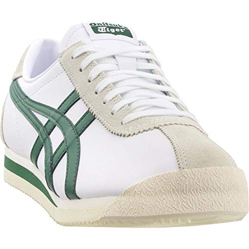 Onitsuka Tiger Unisex Tiger Corsair Shoes D7J4L, White/Hunter Green, 10 M -