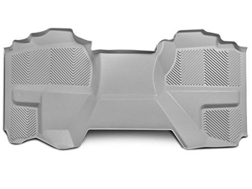 Goodyear Rear Custom Fit Floor Mat for Select Chevy/GMC/Cadillac Truck Models - (Grey)