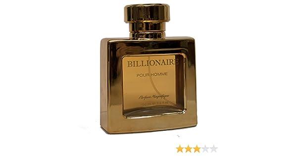 Amazoncom Billionaire Men Perfume 34 Oz 100 Ml Eau De Toilette