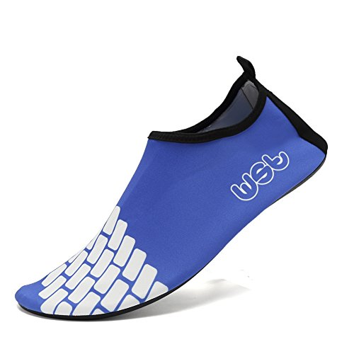 Yoga Exercise Water Shoes(Blue) - 4