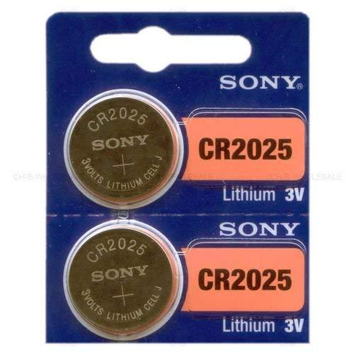 2 NEW SONY CR2025 3V Lithium Coin Battery IncShop Expire 2026 FRESHLY NEW - USA