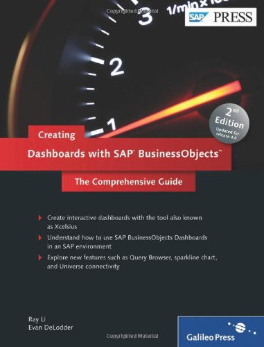 Creating Dashboards with SAP BusinessObjects (2nd Edition), Books Central