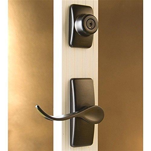 Storm Door Hardware Lever 2 Piece Surface Mount Oil Rubbed Bronze 3/4 Inch Thick Door by Hardware Specitalies, Inc (Image #5)
