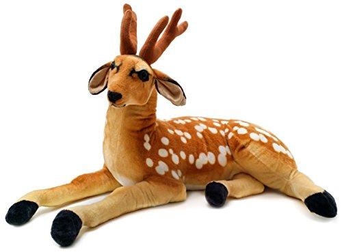Buck the Deer | 3 Foot  Big Stuffed Animal Plush | Shipping