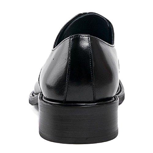 A Traspiranti da Scarpe NIUMT Tacco Punta Versione Resistenti Scarpe A Europea Black Lavoro Deodoranti Sposa Basso all'Usura qvqPIAw
