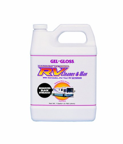 Gel-Gloss RV Cleaner and Wax with Carnauba - 128 oz.