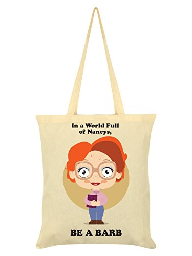 Of Bag Full A Cream World In Barb Tote Nancys 38x42cm Be A xntCS4fW