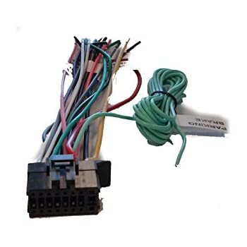 amazon com pioneer wire harness for avh 4100nex avh4100nex avic rh amazon com Car Wiring Harness Wiring Harness Connector Plugs