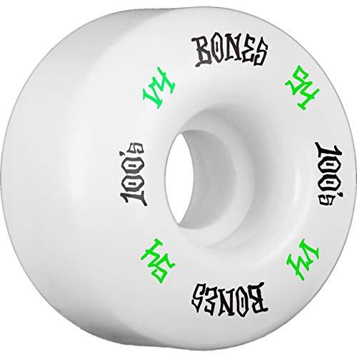 Bones Wheels 100's #12 54X34 NAT [V4] Wides Wheels ()