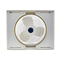 Air King 9155 Storm Guard Window Fan 16-Inch