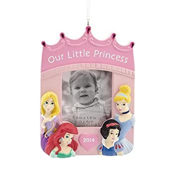 Amazon.com: Disney Princess Hallmark Photo Frame Christmas ...
