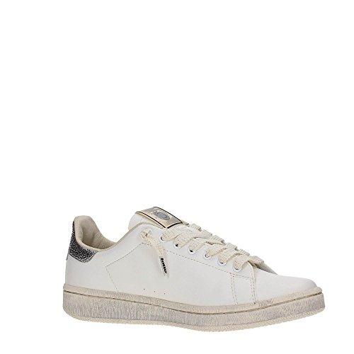 Metal Leggenda Pelle Bianco Silver Sneakers Lotto Autograph White Donna SdBBXq