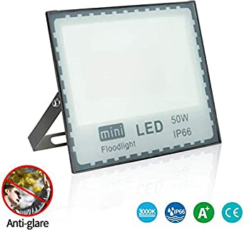 LEDMO 50W Focos Led Proyector IP66 Impermeable Floodlight Led ...