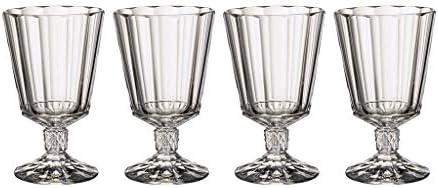 Villeroy & Boch Opéra Copa de vino, Set de 4, 285 ml, Vidrio de cristal, Transparente