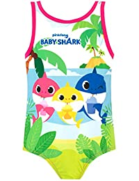 Pinkfong Girls Baby Shark Swimsuit