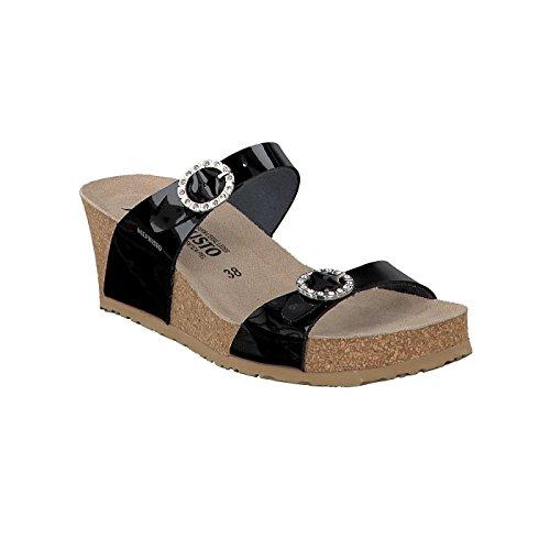 sandalias de mujer MEPHISTO LIDIA negro