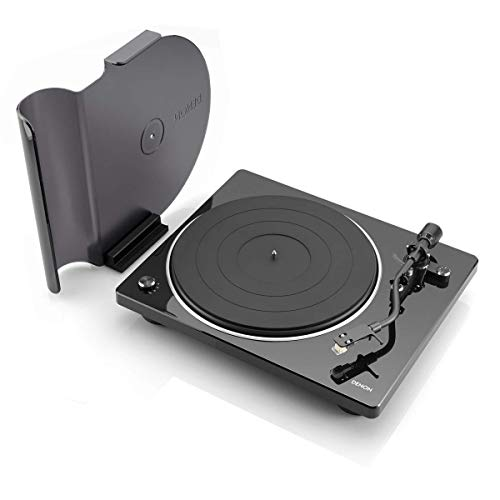Denon DP-400 Semi-Automatic Analog Turntable with Speed Auto Sensor | Specially Designed Curved Tonearm | Supports 33 1/3. 45, 78 RPM (Vintage) Speeds | Modern Looks, Superior - Denon Consumer Speakers