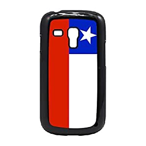 Case Fun Case Fun Flag of Chile Snap-on Hard Back Case Cover for Samsung GalaxyS3 Mini (I8190)