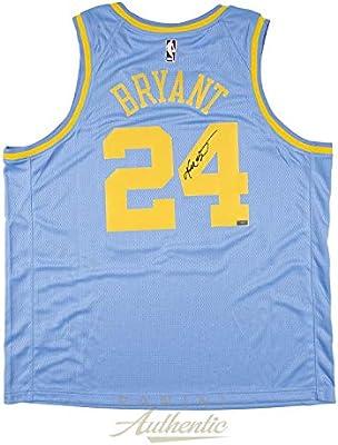 c2437dcd9d7 Kobe Bryant Autographed Jersey - Nike Baby Blue Swingman ~Open Edition Item~  - Panini Certified - Autographed NBA Jerseys
