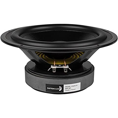 """Dayton Audio DS215-8 8"""" Designer Series Woofer Speaker"""
