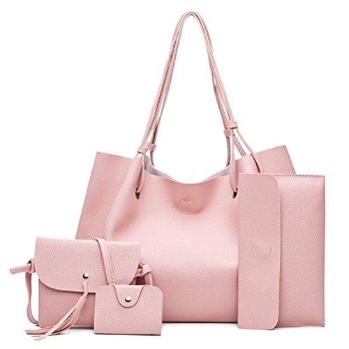 Bestoyard - Tote Bag For Women Rose 34 * 12 * 23 + 16cm