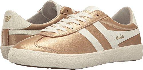 Gola Women's Specialist Metallic Gold/Off-White Athletic Shoe