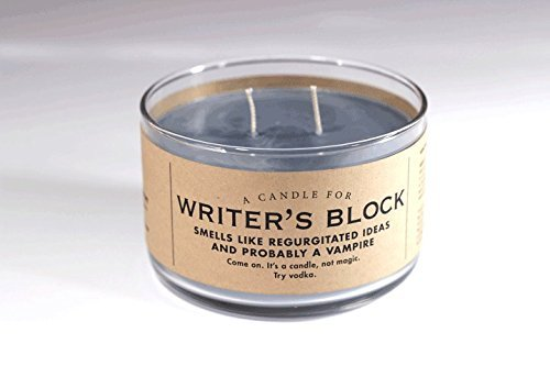 A Candle for Writer's Block - BEST SELLER! 17 oz Candle by Whiskey River Soap Co. (Best Writers Under 30)