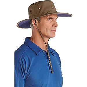 Coolibar UPF 50+ Men's Shapeable Wide Brim Hat - Sun Protective