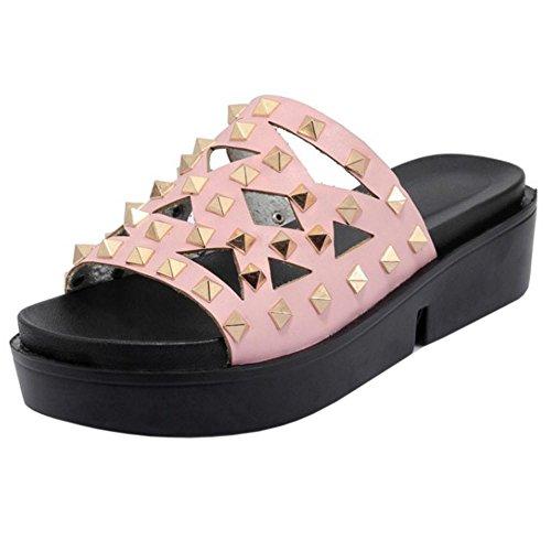 Mules Chaussures Mode Pink VulusValas Femmes xafgH4ngw