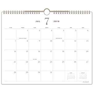 "AT-A-GLANCE 2019-2020 Academic Year Monthly Wall Calendar, Medium, 12"" x 15"", Signature (YP707A14)"