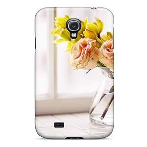 Mialisabblake Slim Fit pc Protector CBdjxZk869kGEcR Shock Absorbent Bumper Case For Galaxy S4