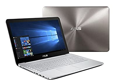 "ASUS VivoBook Pro N552VW-DS79 (i7-6700HQ, 16GB RAM, 256GB NVMe SSD + 1TB HDD, NVIDIA GTX 960M 2GB, 15.6"" 4K UHD, Windows 10) Laptop"