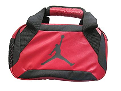 071934a893a6a4 Amazon.com  Nike Jumpman Premium Red Lunch Tote  Kitchen   Dining