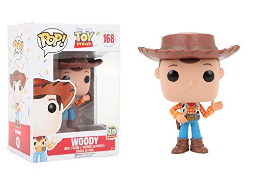 Pop Action (Funko Pop Disney: Toy Story Woody New Pose Action Figure)