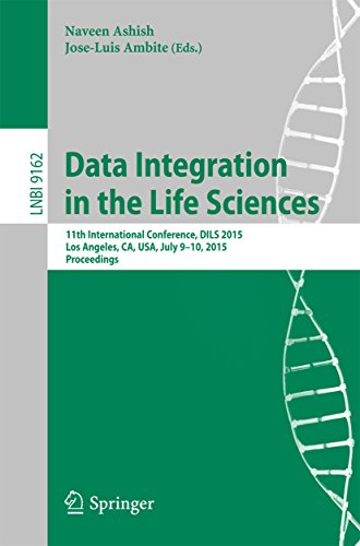 Download Data Integration in the Life Sciences: 11th International Conference, DILS 2015, Los Angeles, CA, USA, July 9-10, 2015, Proceedings (Lecture Notes in Computer Science) Pdf