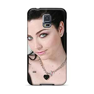Shock-Absorbing Hard Phone Covers For Samsung Galaxy S5 (oOU1934JvvF) Unique Design Nice Evanescence Band Skin