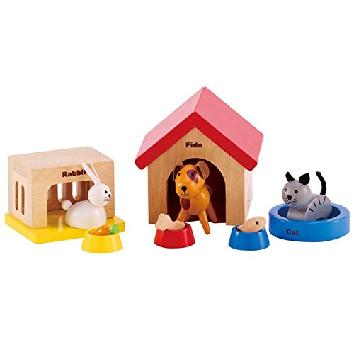 Helloshop26 - d'Imitation Enfant Jeux Famille d'Animaux Domestiques en Jouet, 102106