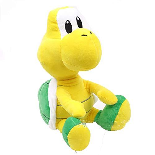 Green Koopa Troopa 28cm Super Mario Bros Plush Toy Cute Kawaii Soft Stuffed Animal Doll Turtle Toys Gift -