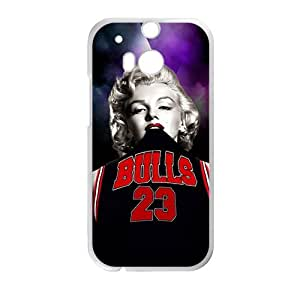 Happy Go Bulls Cell Phone Case for HTC One M8