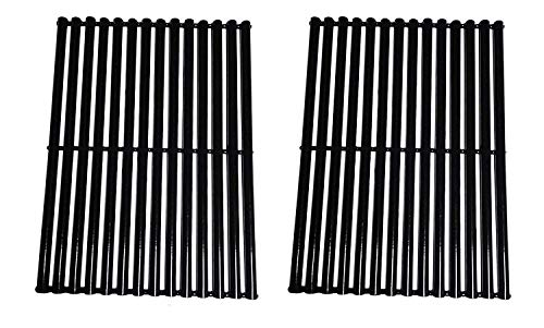 Relishfire Porcelain Steel Gas Grill Cooking Grid/Cooking Grates, Replacement for Centro, Charbroil, Front Avenue, Fiesta, Kenmore, Kirkland, Kmart, Master Chef, and Thermos, Set of ()