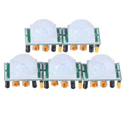 J-deal® Pyroelectric Infrared PIR Motion Sensor Detector Module Hc-sr501 (5pcs)
