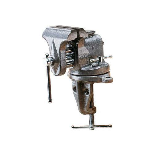 Columbian 33153 153 3-Inch Jaw Width by 6-Inch Opening Swivel Base Clamp-On Bench Vise