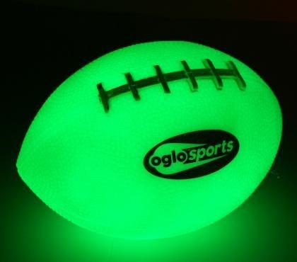 Glow in the Dark Nano Green Football B00LI72DRC