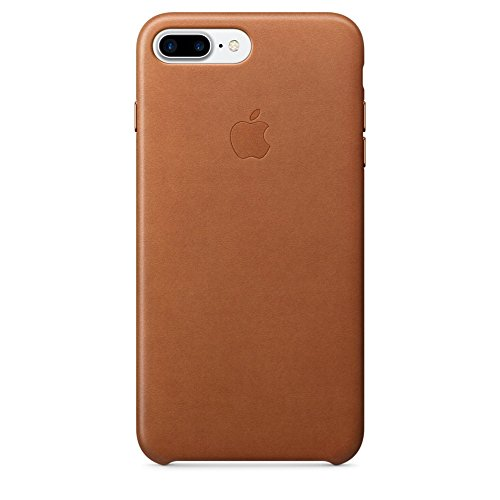 Apple Leather Case for iPhone 7 Plus - Saddle Brown