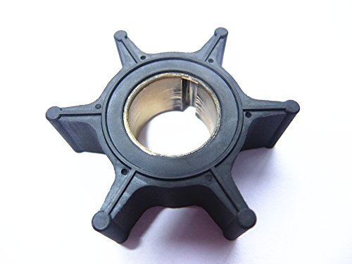 Boat Motor Water Pump Impeller 19210-ZW9-A32 for Honda 4 Stroke 8hp 9.9hp 15hp 20hp Outboard Engine (Brass Insert)