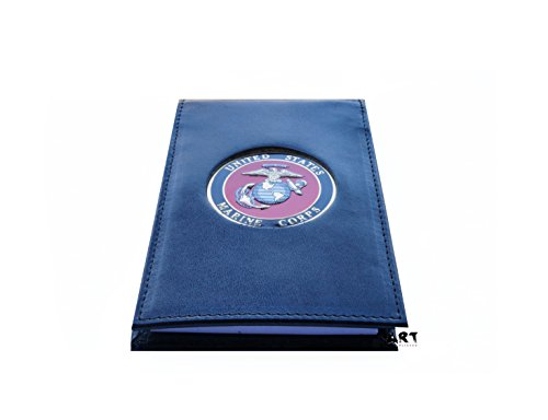 Note Pad - US MARINE CORPS Spiral Notebook Cover with Medallion, 3
