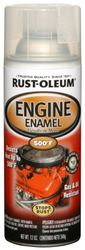 Price comparison product image Rust-Oleum 248944 Automotive 11-Ounce 500 Degree Engine Enamel Spray Paint,  Clear