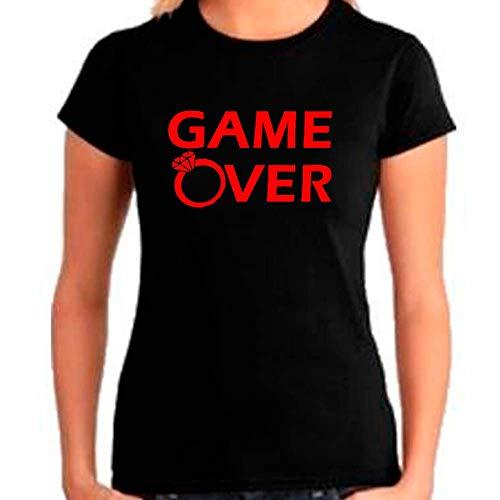 Camiseta Feminina Game Over (M)
